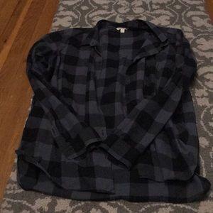 Gap Flannel Top
